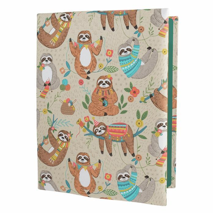Quilters Sloth Design A4 Ironing and Cutting Multi-Mat