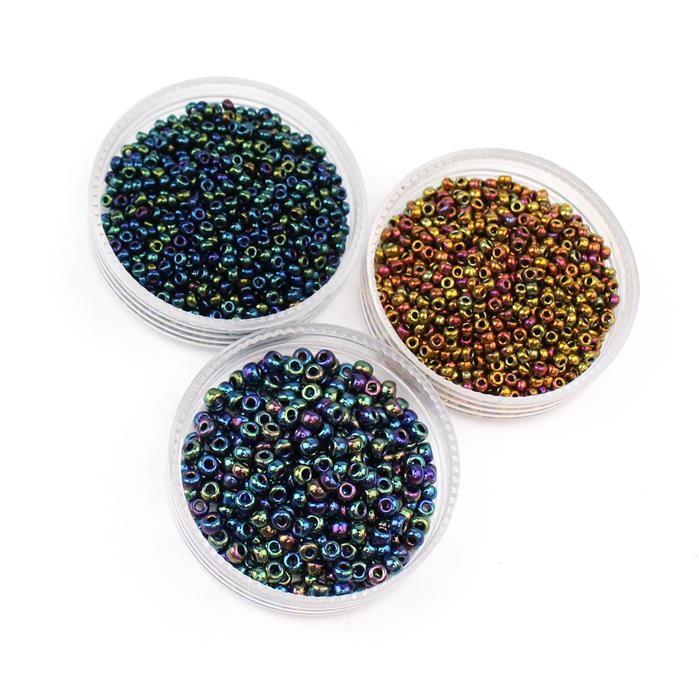 Seedbead Figurines - Witch: Miyuki Seedbeads 2 x 11/0 and 1x 8/0