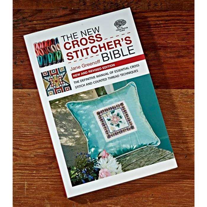 The New Cross Stitchers Bible Book by Jane Greenoff (Signed)