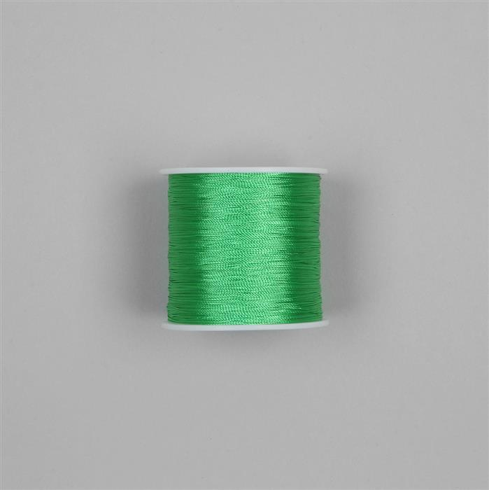 200m Neon Parrot Green Nylon Thread Approx 0.3mm