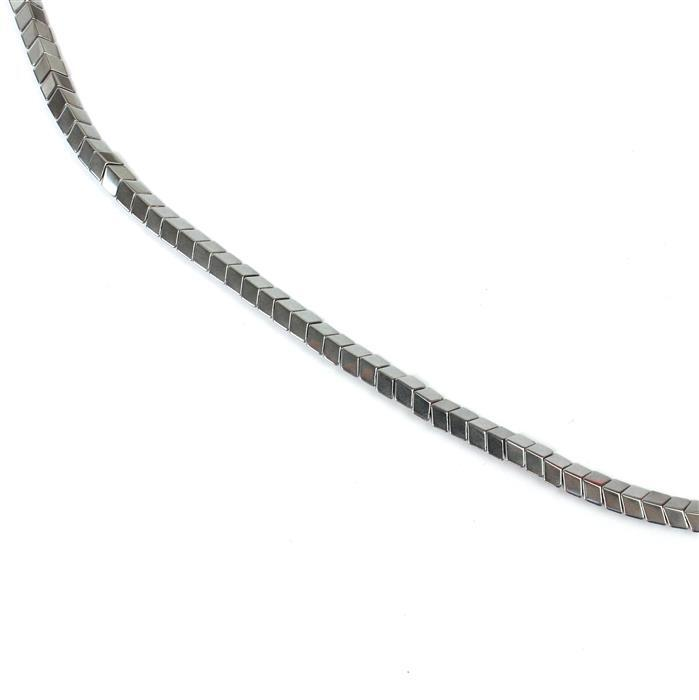 70Cts Silver Coloured Hematite Arrow Head Beads Appox 4x6mm,38cm strand