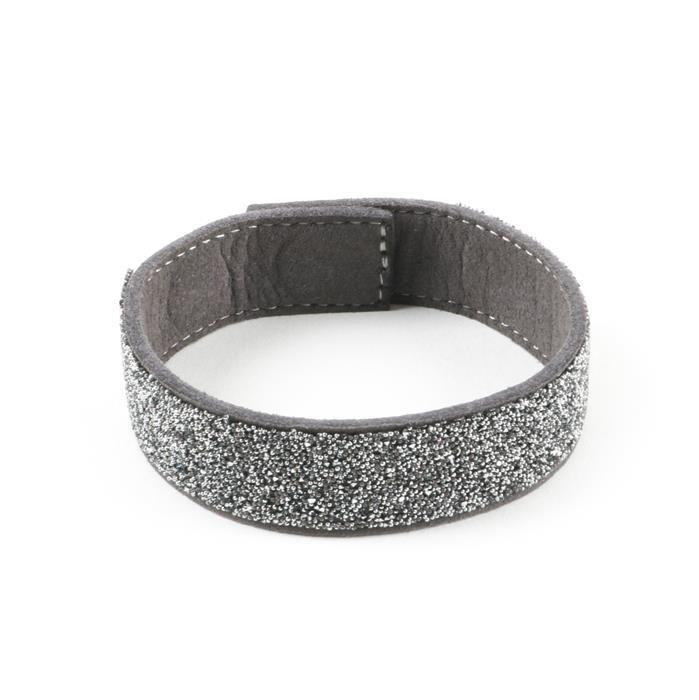 Swarovski Transfer with Magnetic Bracelet Charcoal