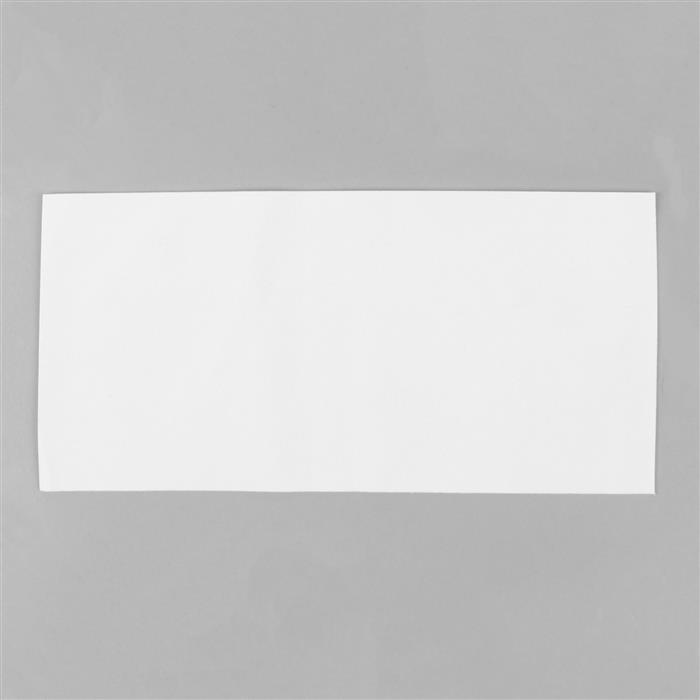 White Ultrasuede Light Foundation Sheet 8.5