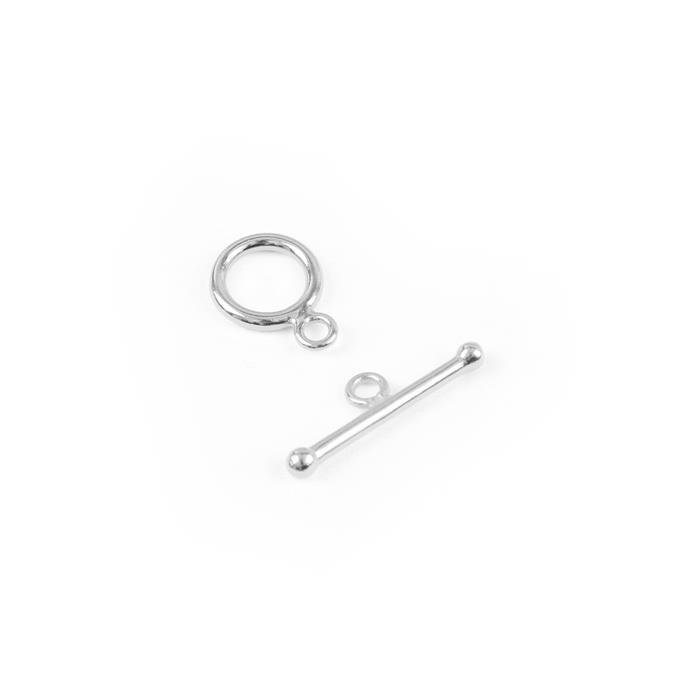 Sterling Silver Toggle Clasp T-Bar (1pc)