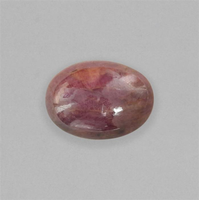 12cts Ruby Oval Cabochon Approx 17x12mm.