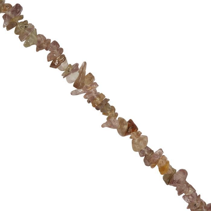 100cts Colour Change Garnet Plain Nuggets Approx 2x1 to 6x2mm, 84cm Strand