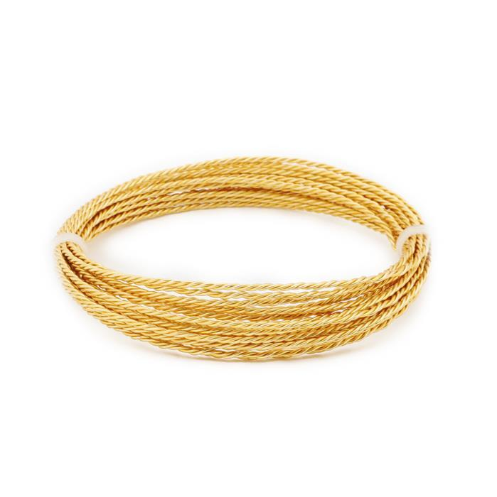3m Gold Plated Rope Copper Wire Approx 0.60mm