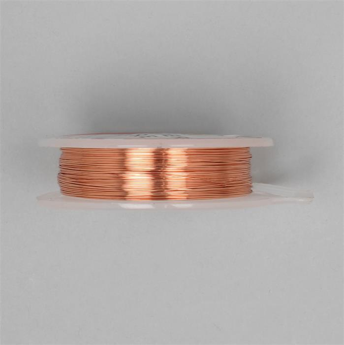 10m Copper Wire 0.4mm