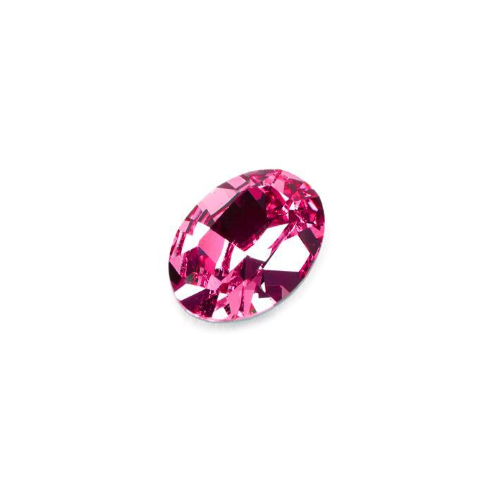 Swarovski Oval Dentelle Fancy Stone 4120 Fuchsia F 14x10mm 1pk