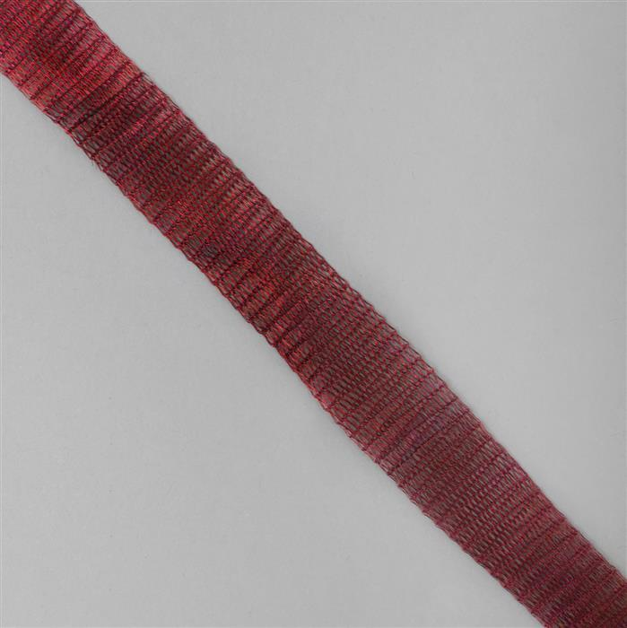 1m Red Brass Wire Mesh 18mm