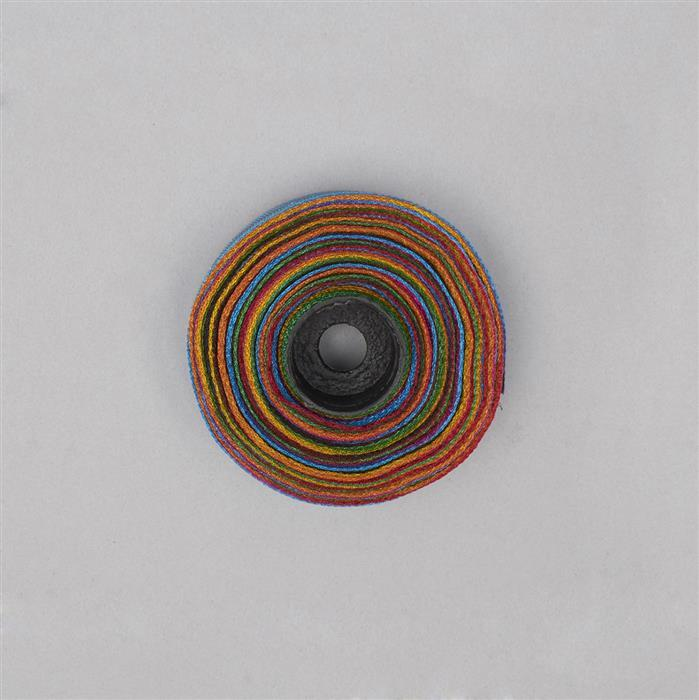 10m Multi-Colour Mesh Ribbon Width Approx 20mm