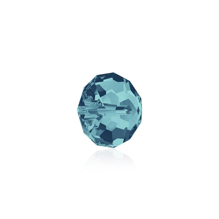 Swarovski Crystal Beads - Pack of 12 Briolette 5040 - 6mm Indicolite