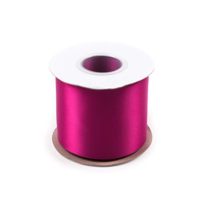 20M Wine Double Faced Satin Approx 75mm