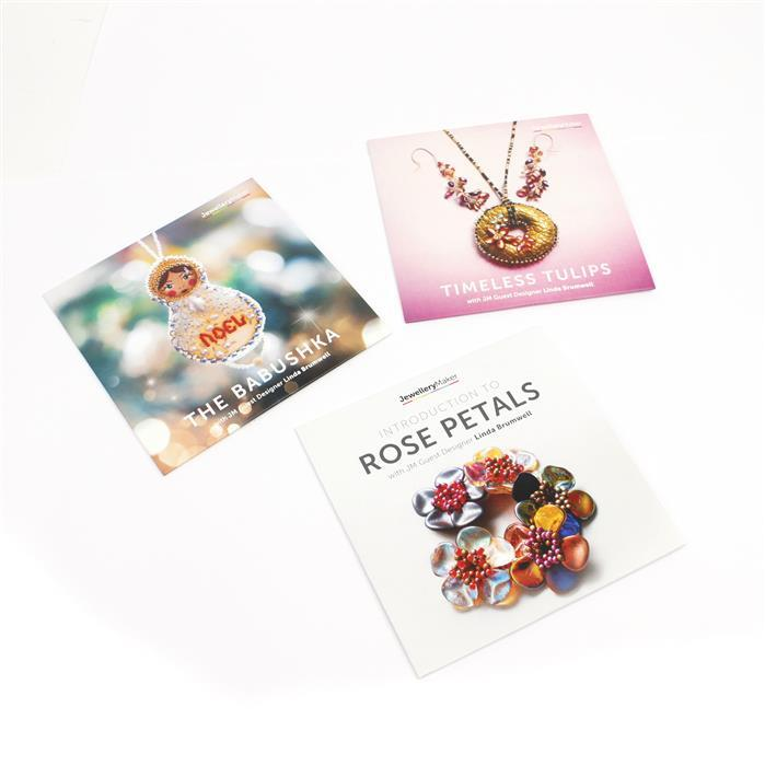 Linda' DVD Bundle! Timless Tulips, Babushka and Rose Petal