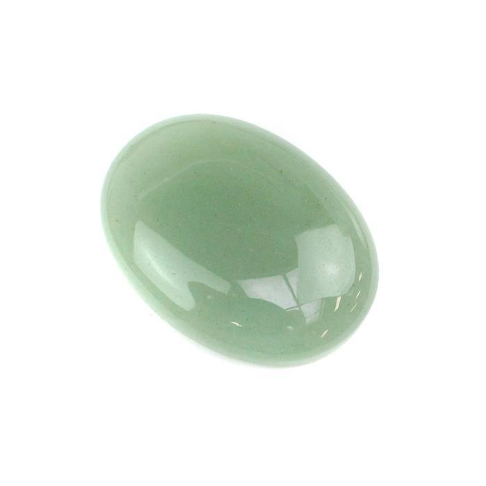 55cts Green Aventurine Oval Cabochon Approx 40x30mm