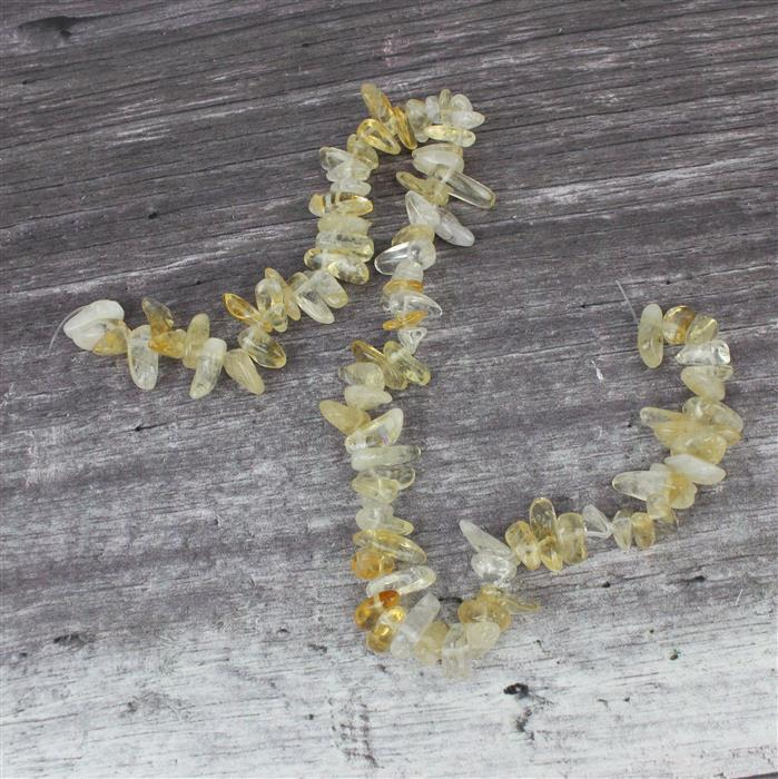 280cts Citrine Long Nuggets Approx 5X8- 7X16mm 38cm