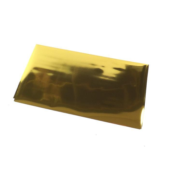 Lisa Pavelka Crafting Foils Approx 21x12cm - Gold Color (6pcs)