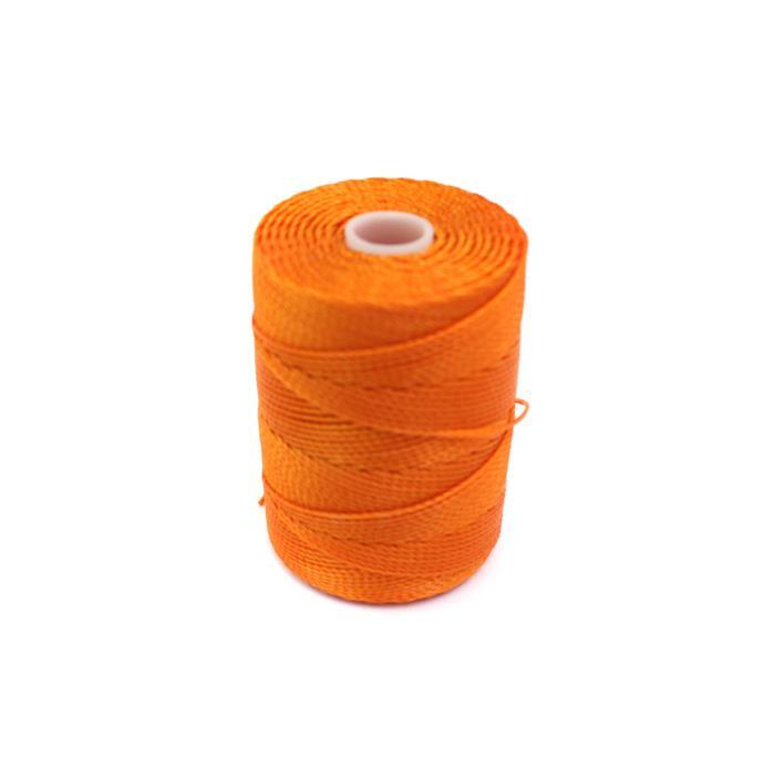 70m Popsicle Orange Nylon Cord Approx 0.4mm