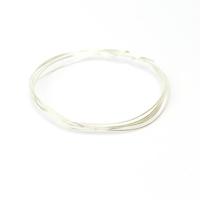 1m 925 Sterling Silver Wire Approx 0.8mm