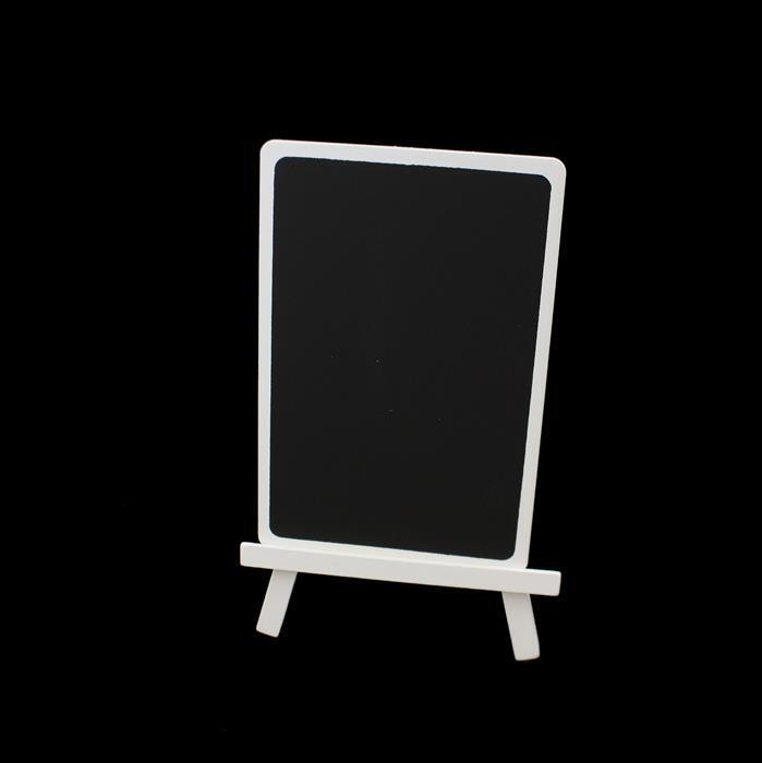 Small White Chalkboard Stand - 55x85mm (1pc)