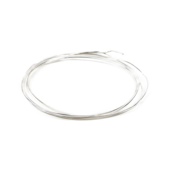 1m 925 Sterling Silver Wire Approx 1.0mm