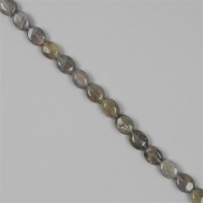 100cts Labradorite Ovals Approx 10x8mm