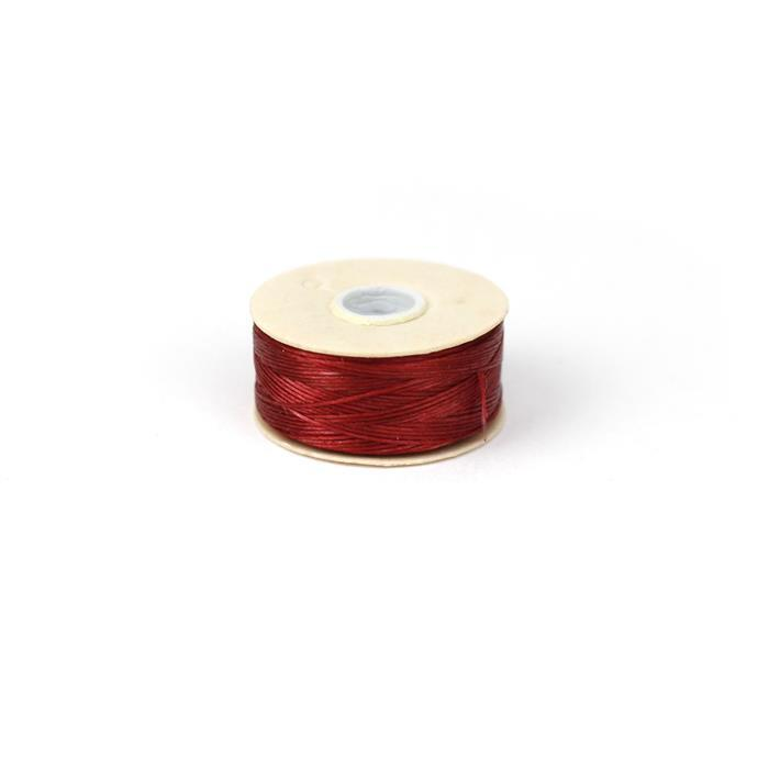 72 yards Red Nymo Thread Size D