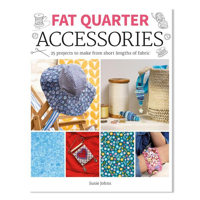 Fat Quarter Accessories book by Susie Johns - Exclusive