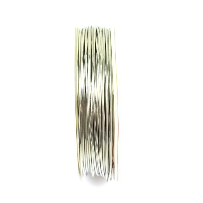 10m Silver Plated Copper Wire 0.8mm