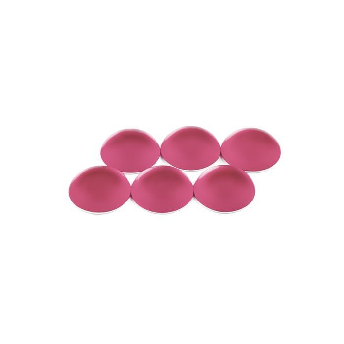 Watermelon Luna Round Cabochons Approx 14mm (6pcs)