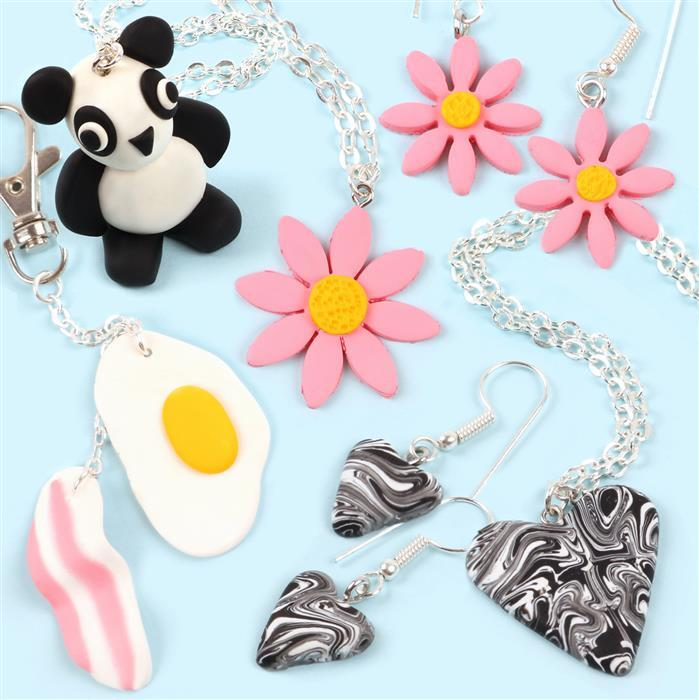 Polymer Clay Jewellery Kit