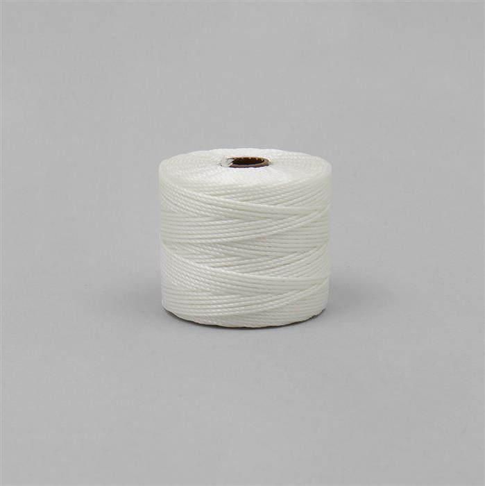 70m White Nylon Cord Approx 0.4mm