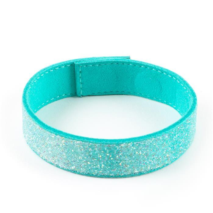 Swarovski Transfer with Magnetic Bracelet – Teal
