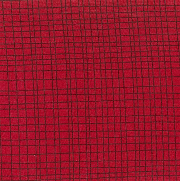 Crossroads Extra Wide Backing Fabric in Red 0.5m (280cm Width)