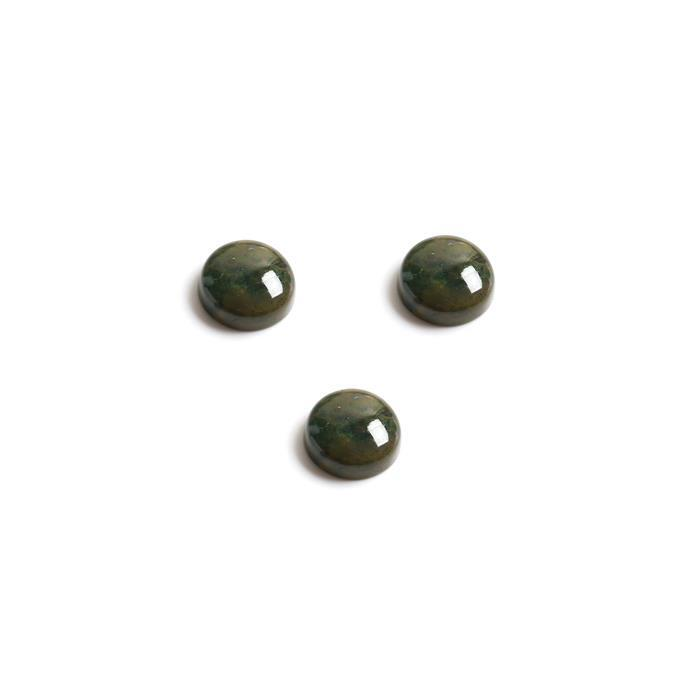 25cts Ocean Jasper Round Cabochons Approx 14mm. (Pack of 3)