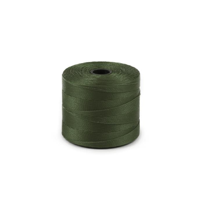 260m Olive S-Lon Cord Approx 0.3mm