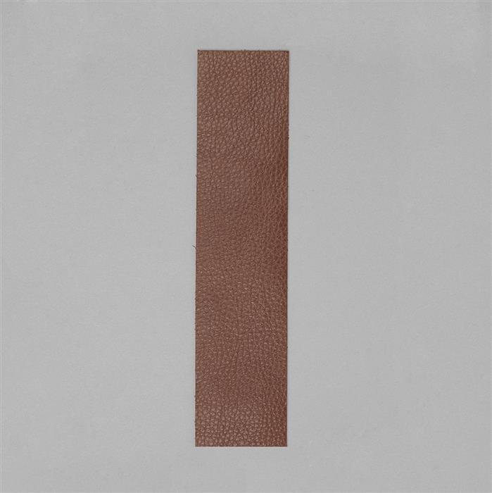 Beadsmith Brown Leather Strip 2