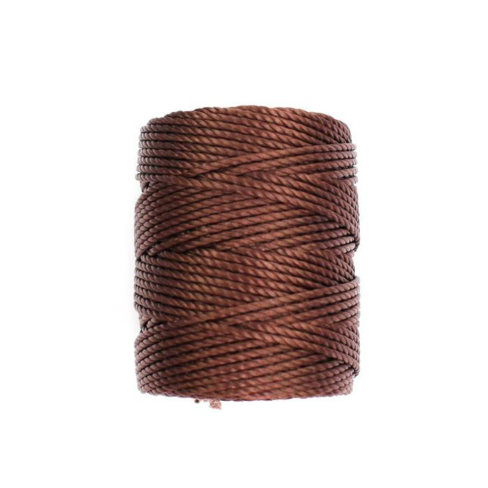 32m Brown Nylon Cord Approx 0.9mm