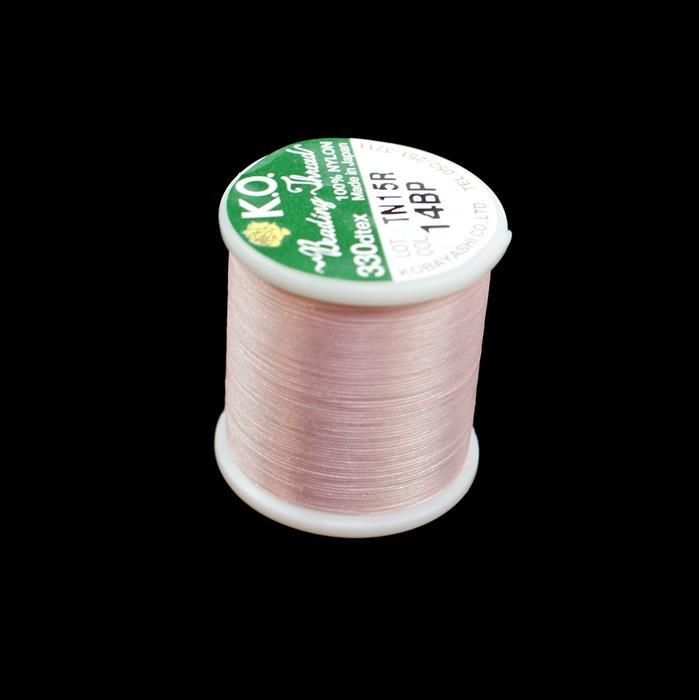 KO Beading Thread Baby Pink Approx 50m