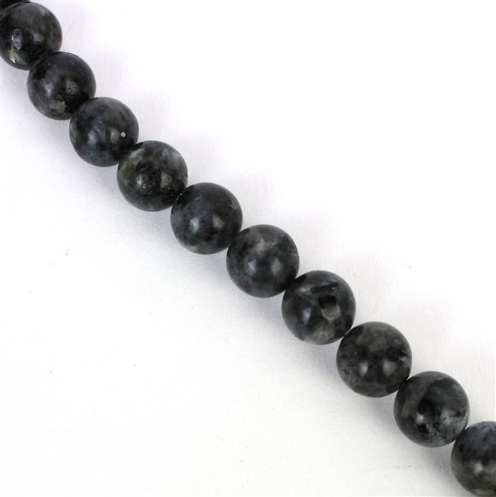 430cts Larvikite Plain Rounds Approx 12mm, Approx 38cm/strand
