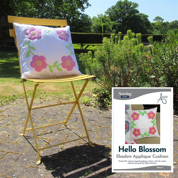 Allison Maryon's Hello Blossom Shadow Applique Cushion Kit & Instructions