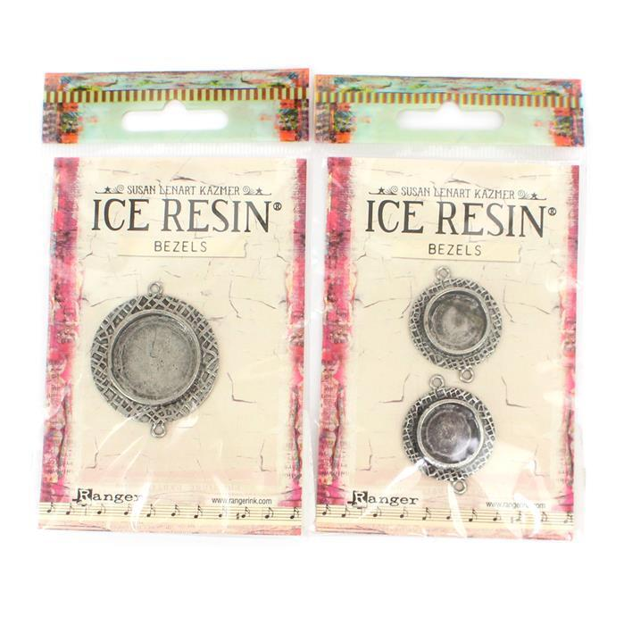 Antique Silver Round Bezel Collection.
