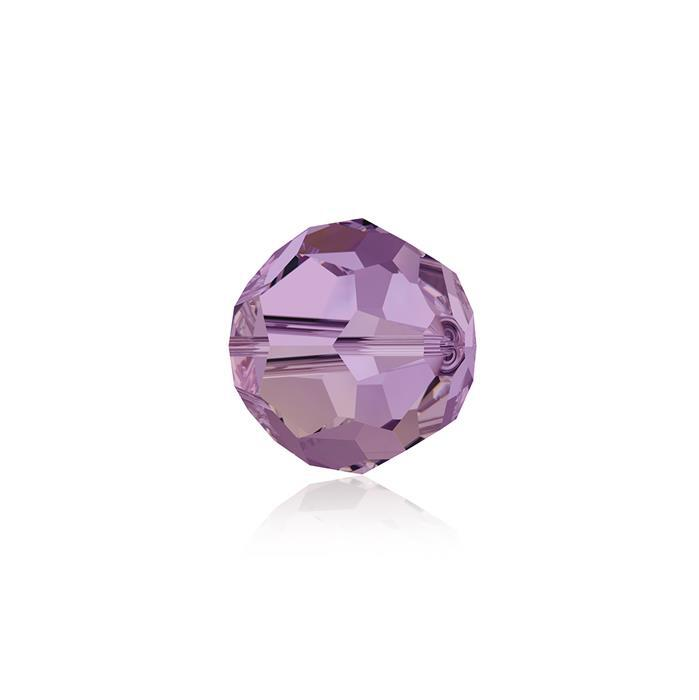 Swarovski Crystal Beads - Pack of 12 Round 5000 - 6mm Crystal Lilac Shadow