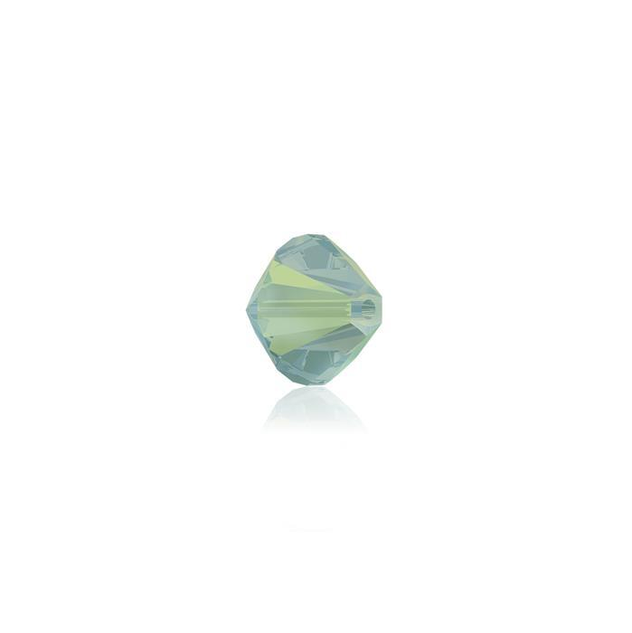 Swarovski Crystal Beads - Pack of 24 Bicones 5328 - 4mm Pacific Opal