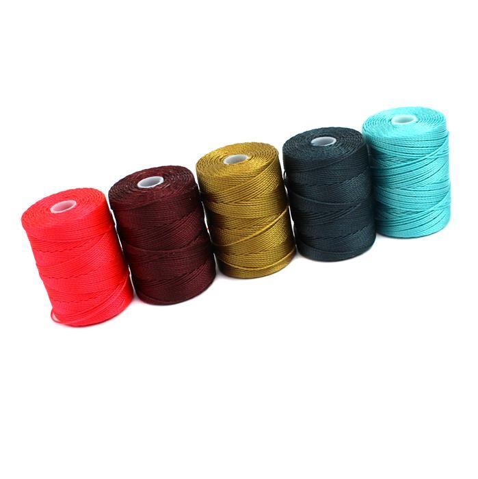 0.4mm Nylon Bundle; Inc 5 Colours