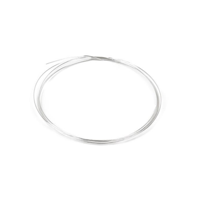 925 Sterling Silver Wire - 0.5mm (1m)