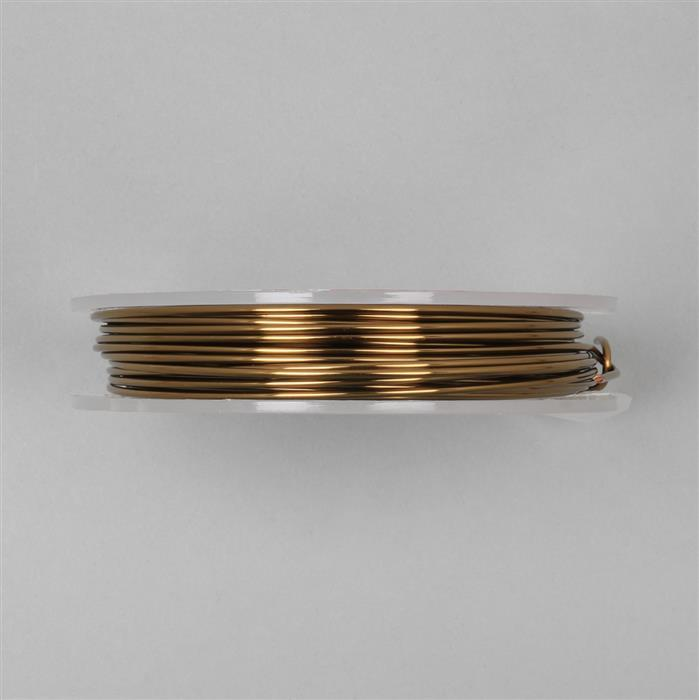 10m Antique Bronze Copper Wire Approx. 1.50mm