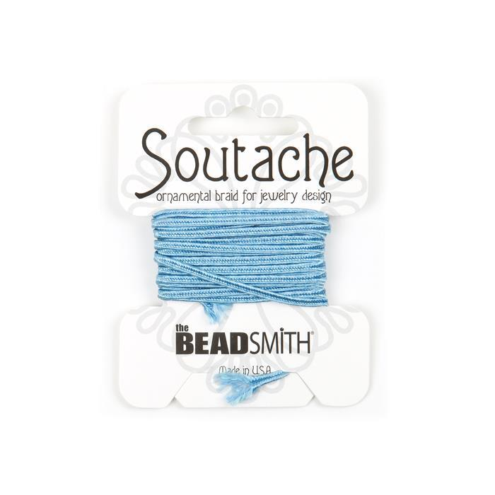 Rayon Soutache Blue 3 Yard 3mm