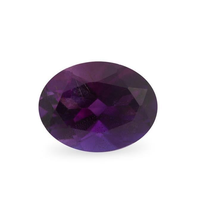 0.85cts Moroccan Amethyst Brilliant Oval Approx 8x6mm