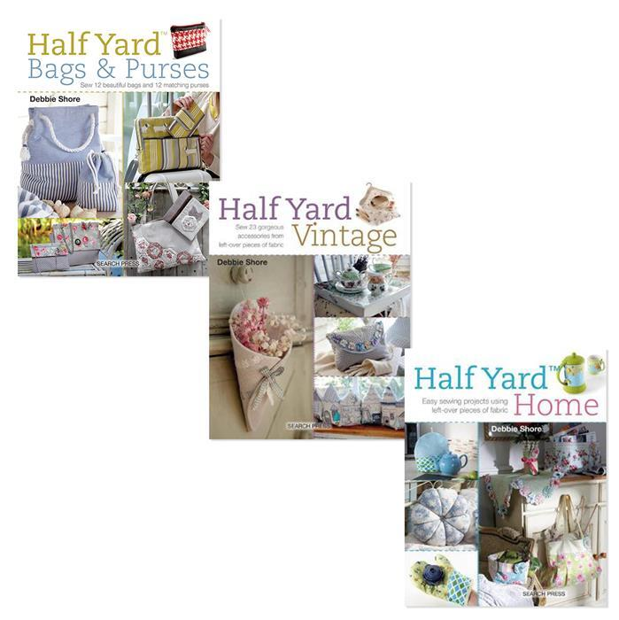 Half Yard Home, Bags & Vintage Books by Debbie Shore: 3 for 2 Offer, Save £9.99